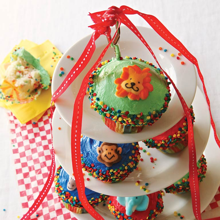 Under the Big Top Cupcakes Recipe