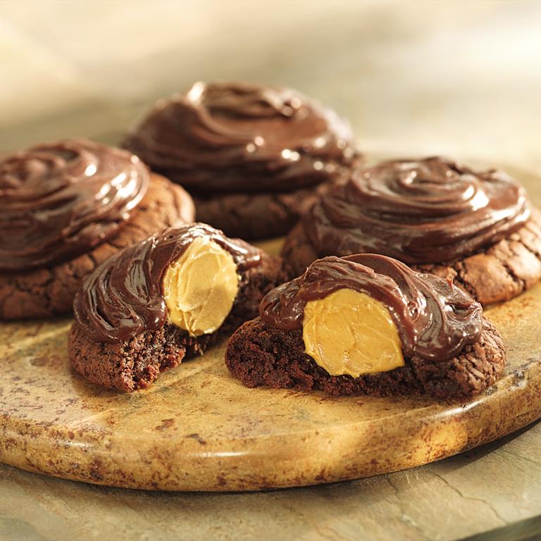 Peanut Butter Brownie Cookies Recipe