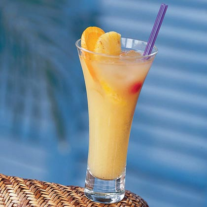 Planter's Punch RecipeThough typically a welcome drink on any Caribbean island, we're sure this drink would be welcome anywhere it may be served. White rum plays nicely with pineapple juice and fresh lime and orange juices. The grated nutmeg is optional, but, believe us, it is heavenly.