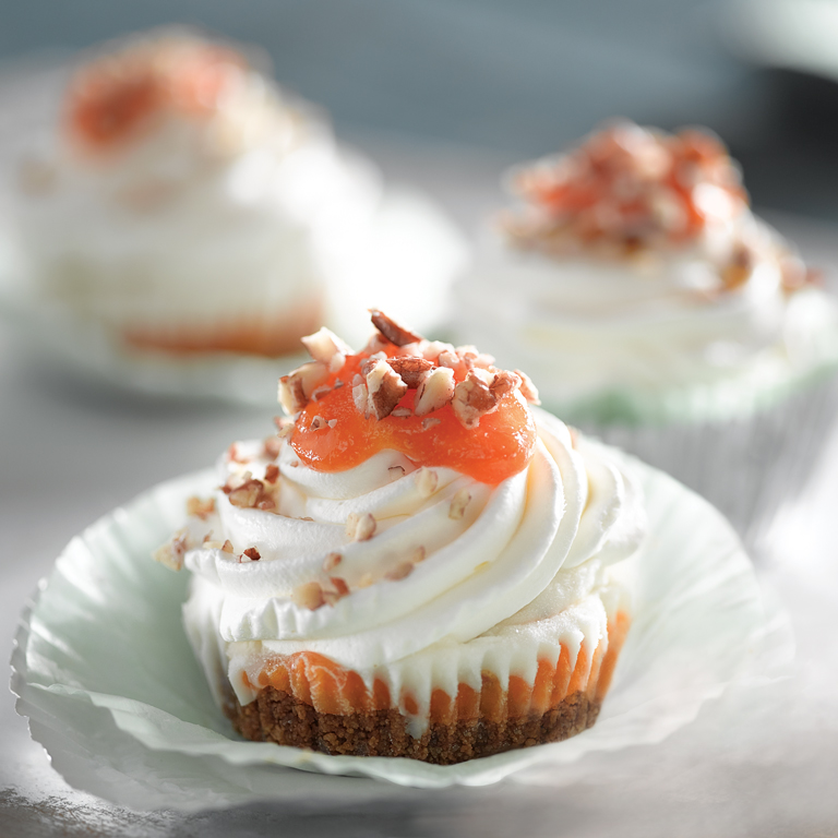 Apricot Pecan Ice Cream Cups