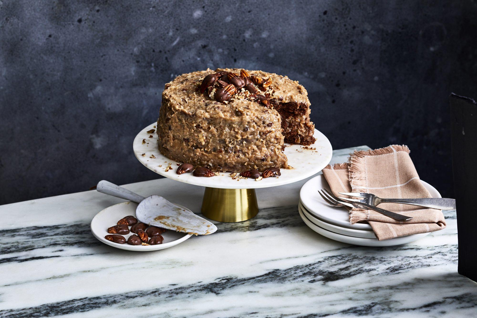 mr- mama's german chocolate cake reshoot