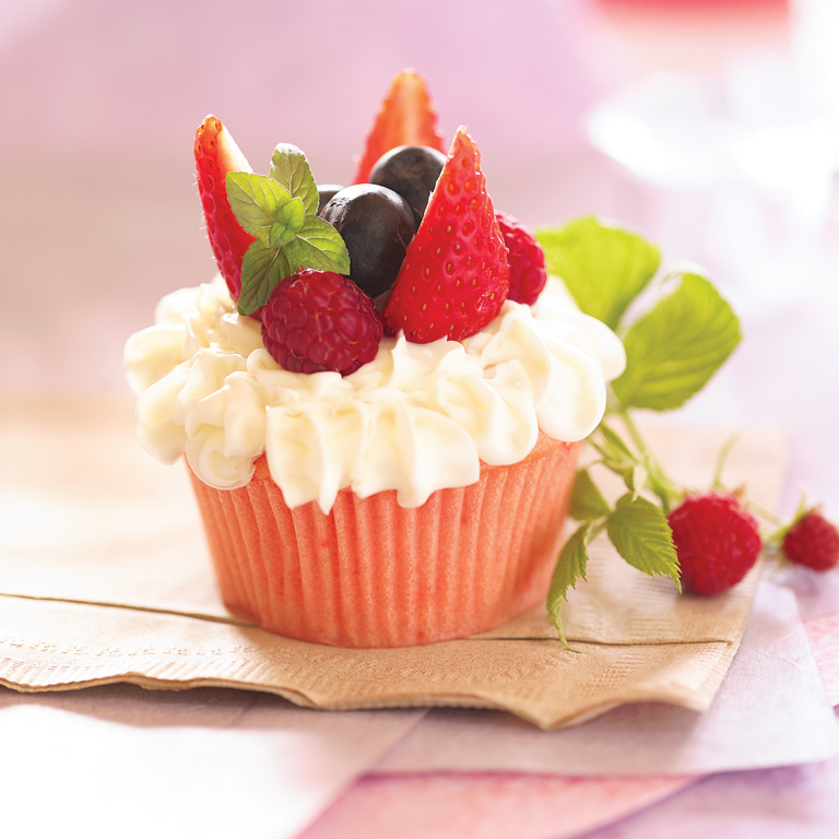 Berry Delight Cupcakes