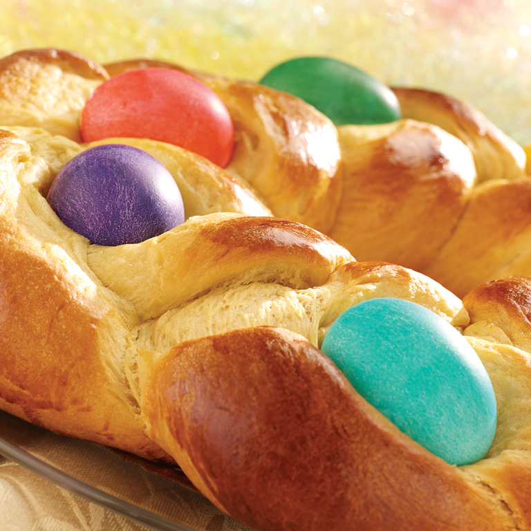 Easter Egg Bread Ring Recipe | MyRecipes