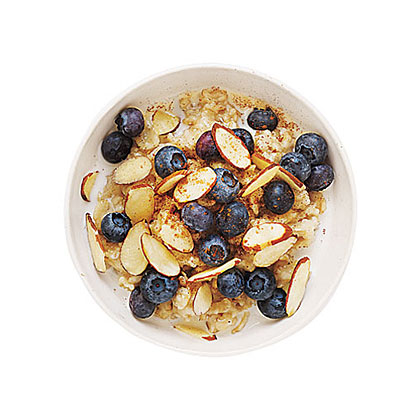 Blueberry-Almond OatmealRecipe