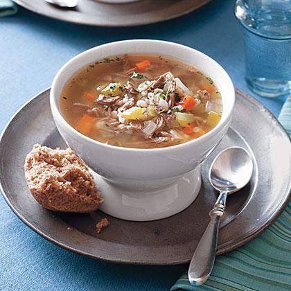 Lamb and Barley Soup