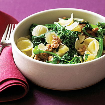 Orecchiette with Sausage and Broccoli Rabe Recipe