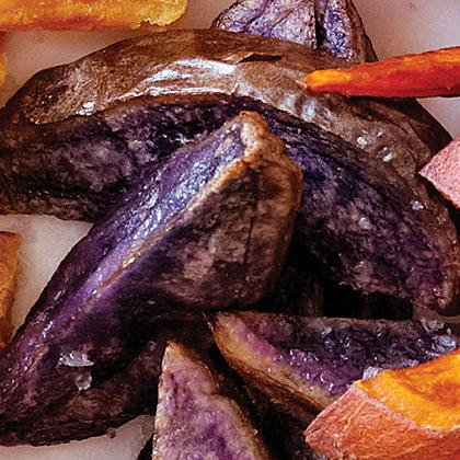Purple Potato Wedges