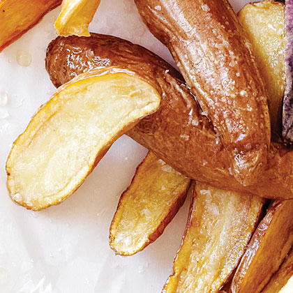 Ruby Crescent Fingerling Fries Recipe
