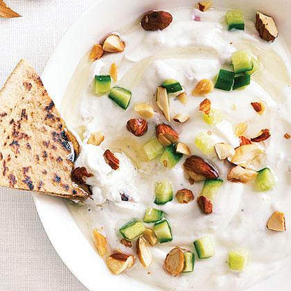 Creamy Yogurt and Almond Spread