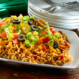 Nacho Supreme Rice Recipe Myrecipes