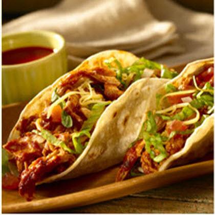 Shredded Chicken Tacos Recipe | MyRecipes.com