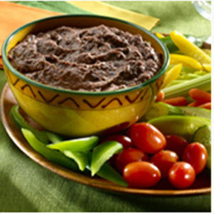 Zippy Black Bean Dip