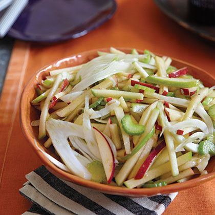 Fennel Apple And Celery Slaw