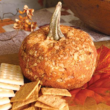 A Great Pumpkin Cheese Ball