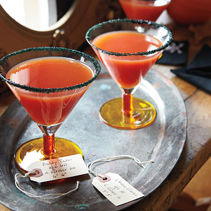 Blood Orange MartinisRecipe