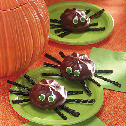 Marshmallow Cookie SpidersRecipe