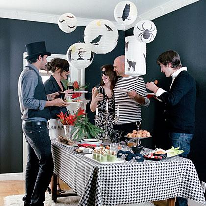 The Haunted Hostess: Adult Halloween Party Ideas   MyRecipes
