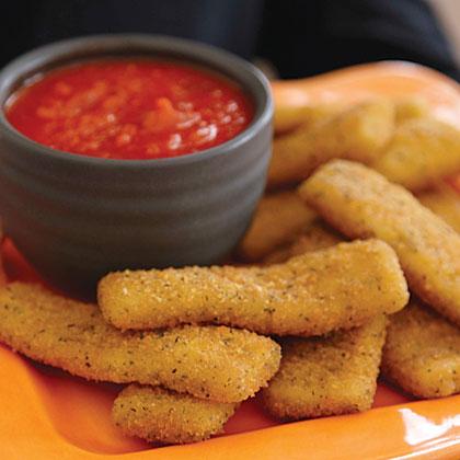 Fried Goo with Dracula Dip Recipe