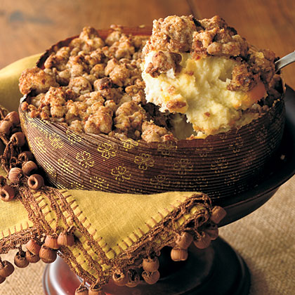 Ginger Streusel-Topped Cheesecake Recipe