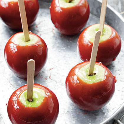 Shiny Red Candy Apples Recipe