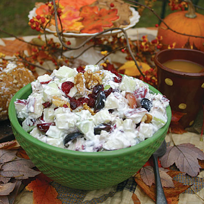 Cranberry Waldorf Salad Recipe