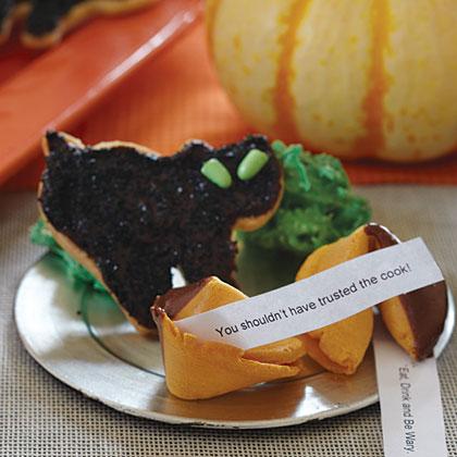 Black Cat Cut-Out Cookies