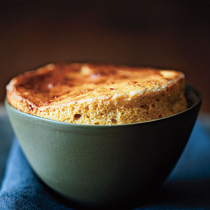 Cheese and Squash Souffles Recipe
