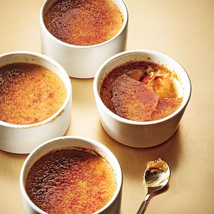 Maple-Gingerbread Pots de Creme