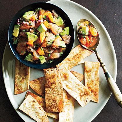 Orange and Avocado Salsa