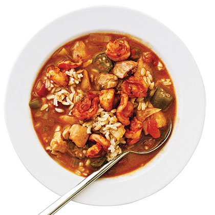 Smoky Shrimp and Chicken Gumbo