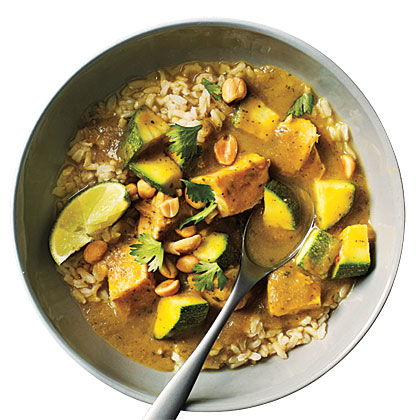 Thai Curry Stew with Turkey and Zucchini Recipe