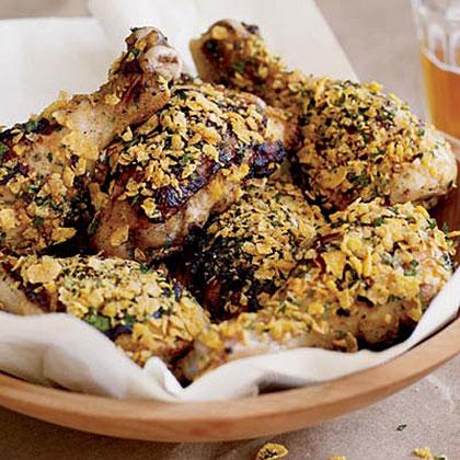 Buttermilk Chicken with Crispy Cornflakes