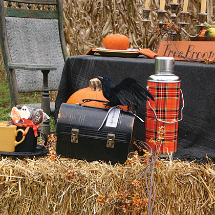 Pumpkin Patch Picnic MenuGather outdoors to select the pick of the patch, then spend time together playing games, carving and decorating pumpkins and enjoying a country-size spread of delicious homemade offerings.