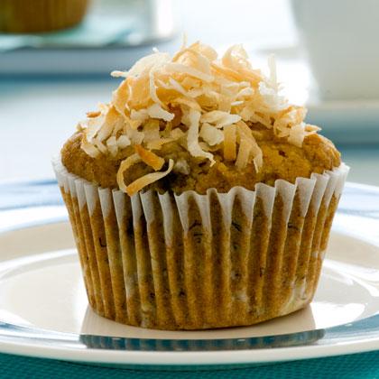 <p>Banana-Coconut Muffins</p>