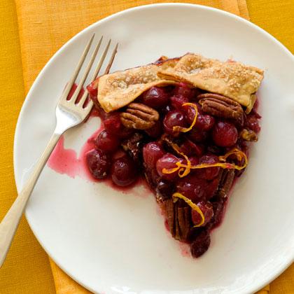 Rustic Cranberry Tart Recipe | MyRecipes
