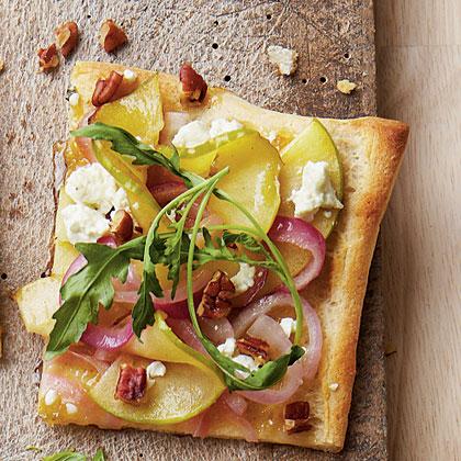 Apple-Goat Cheese Pizza Recipe