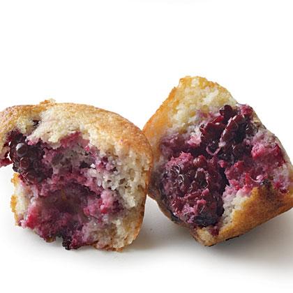 Blackberry Cornbread MuffinsRecipe