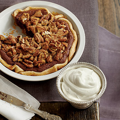 Chocolate-Pecan Chess PieRecipe