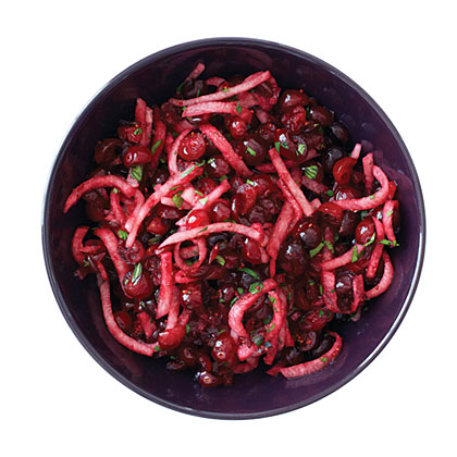 Cranberry, Jicama, and Cilantro Salsa Recipe