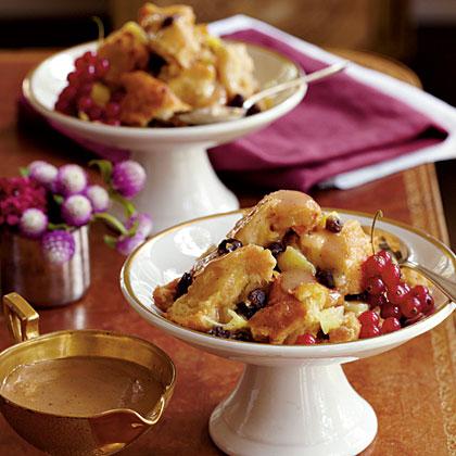 Creole Bread Pudding with Bourbon SauceRecipe