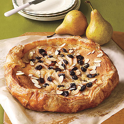 Pear, Dried-Cherry and Almond Galette Recipe