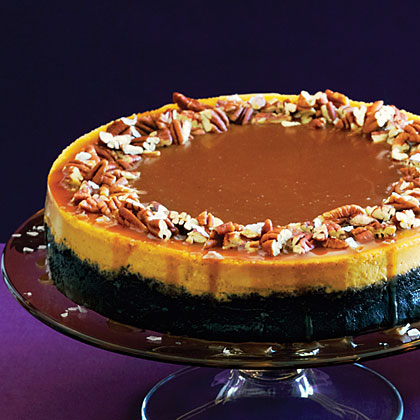 Pumpkin and chocolate together are surprisingly delicious.