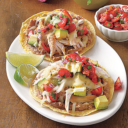 Rotisserie Chicken Tostadas Recipe | MyRecipes