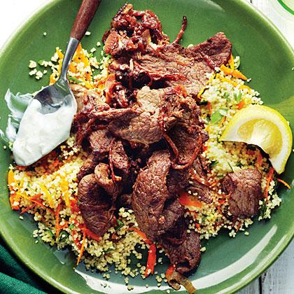 Shawarma Lamb with Couscous Salad