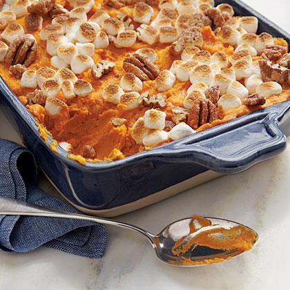 Sweet Potato-Carrot Casserole Recipe