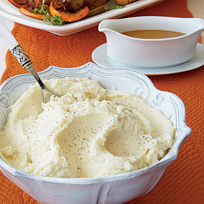 Whipped Potatoes with Roasted Garlic