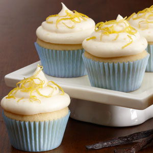 Triple Citrus Cupcake