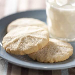 Crispy Vanilla Sugar Cookies