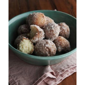 Vanilla Mochi Donuts