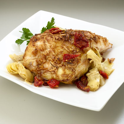 Sun-Dried Tomato Artichoke Chicken